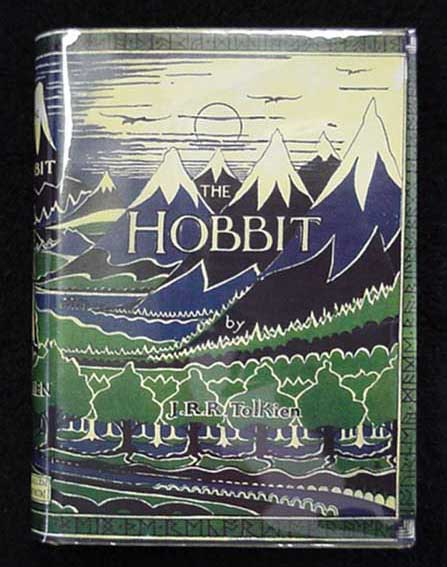 The Hobbit 1937 UK 2nd Impression w/ card SIGNED by TOLKIEN
