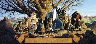 The Fellowship of the Ring <br> by the Brothers Hildebrandt